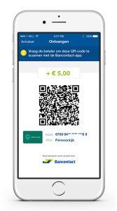 De app van bancontact