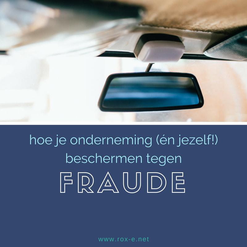 Beschermen Tegen Fraude